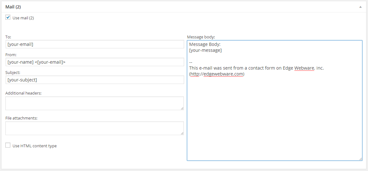 Contact Form 7 Responder
