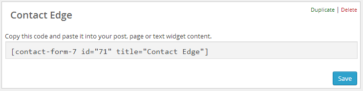 Contact Form 7 Title