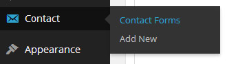 Contact Form 7 Contact Menu