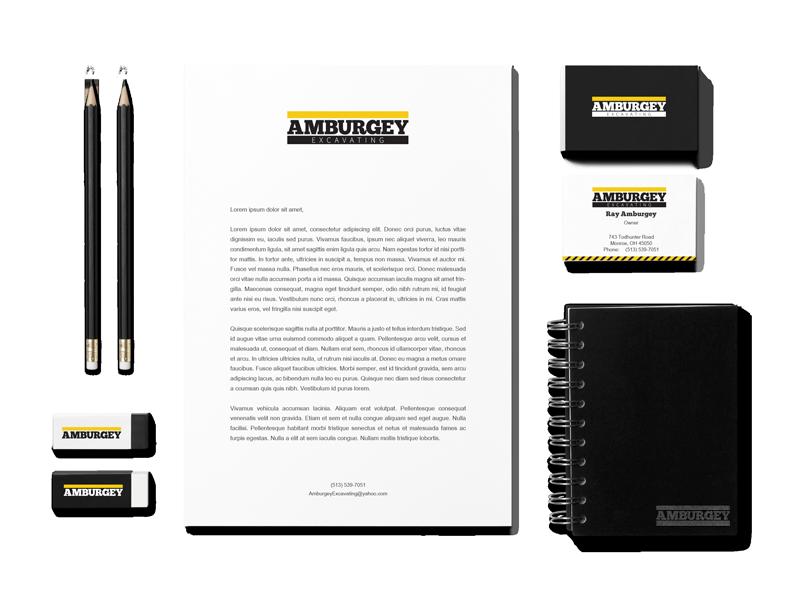 Amburgey Excavating Branding Package