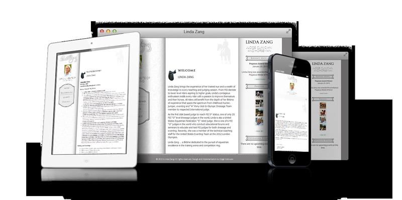 Linda Zang Responsive Website